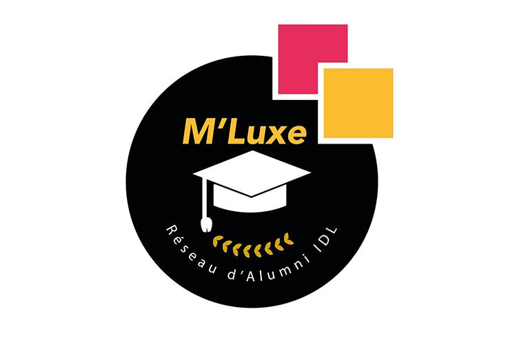 Logo M'Luxe - association des anciens du Master Innovation Design Luxe